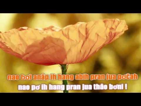 Mong mang alam pran jua ( Beat karaoke )