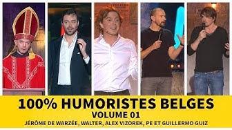 100% Humoristes belges - Volume 01