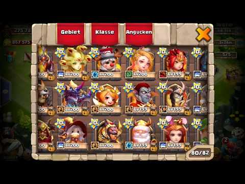 Castle Clash - XXL Account Update | August