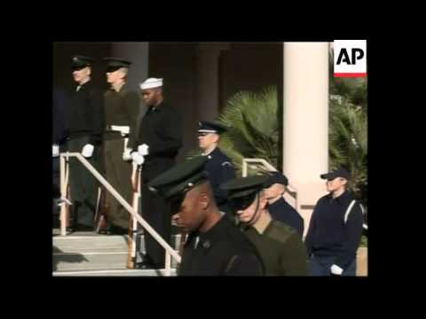 Preparations for former president Gerald Ford's funeral