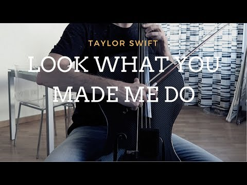Taylor Swift - Look what you made me do for cello and piano (COVER)