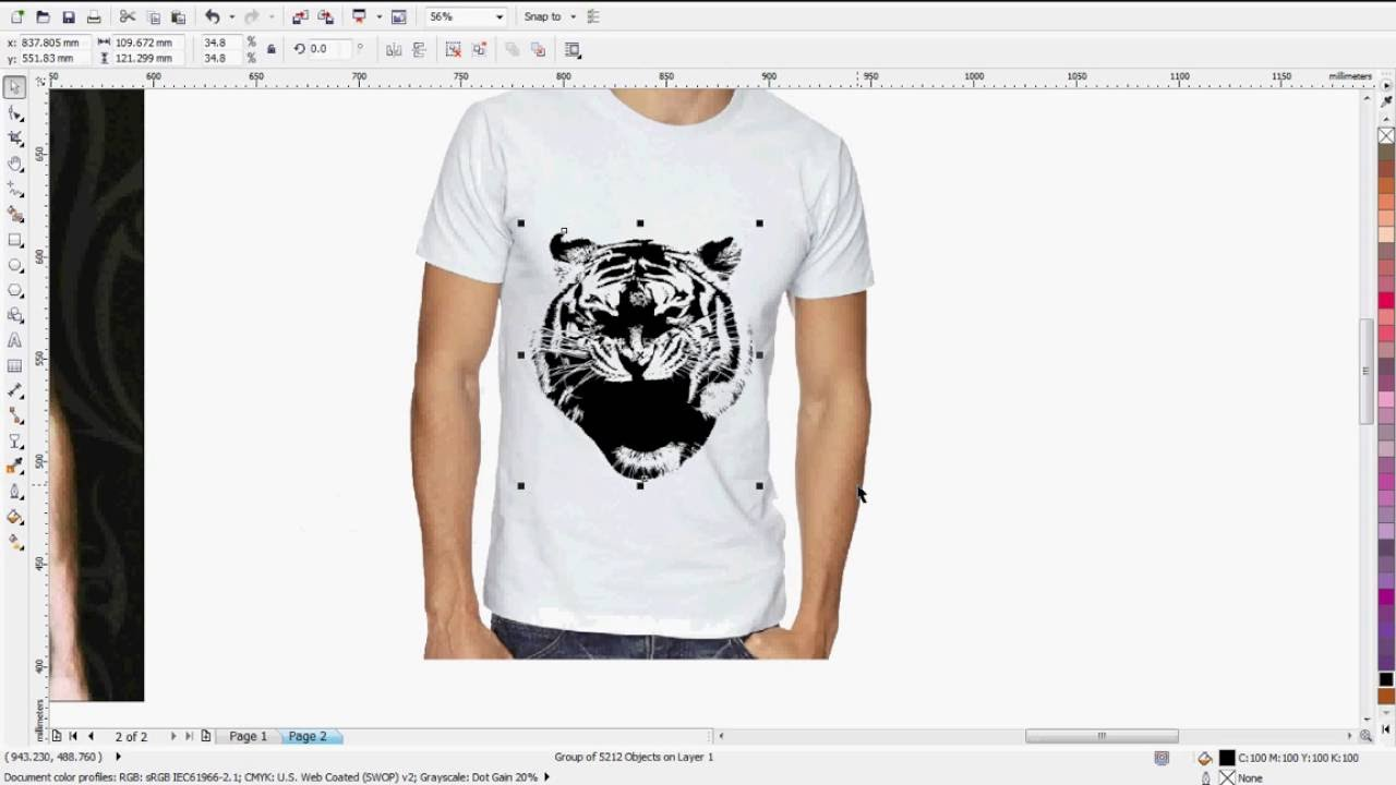 Corel draw vs photoshop for t shirt design - How To Convert Vector In Photoshop Coreldraw