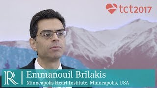 TCT 2017: The CrossBoss First Trial  - Emmanouil Brilakis