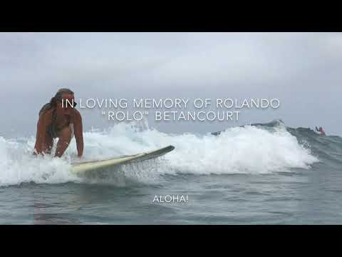Hawaiian surfer's funeral