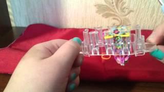 Плетение из резинок урок 3 наконечник на карандаш