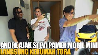 Download ANDRE DAN STEVI PAMER MOBIL KUNING LANGSUNG KE RUMAH TORA SUDIRO