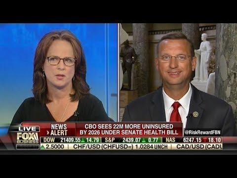 06 26 17 Collins Discusses the Senate Health Care Bill's CBO Score with Fox Business