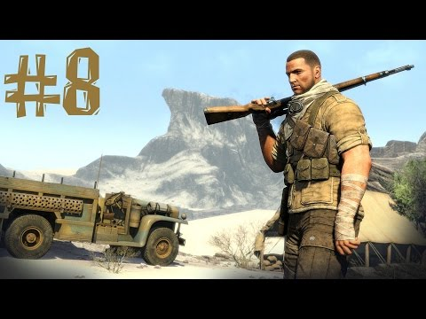 Sniper Elite 3 - обзор боёв по Сети (Мультиплеер) Multiplayer Gameplay HD