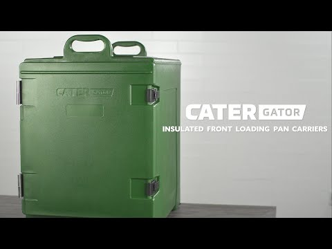 CaterGator Insulated Front Loading Pan Carriers