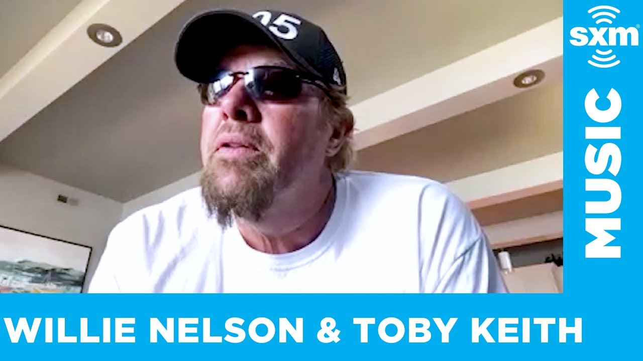 """Willie Nelson and Toby Keith on the song """"Don't Let the Old Man In"""""""