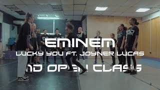 Eminem   Lucky You Clean ft  Joyner Lucas Kamikaze  - INDZ  CHOREOGRAPHY