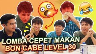 LOMBA MAKAN PAKE BONCABE WASEDA MANTAPPU BOYS PART 2! thumbnail