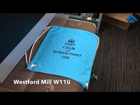 Screen Printing Class Snippets - Printing Onto Bags