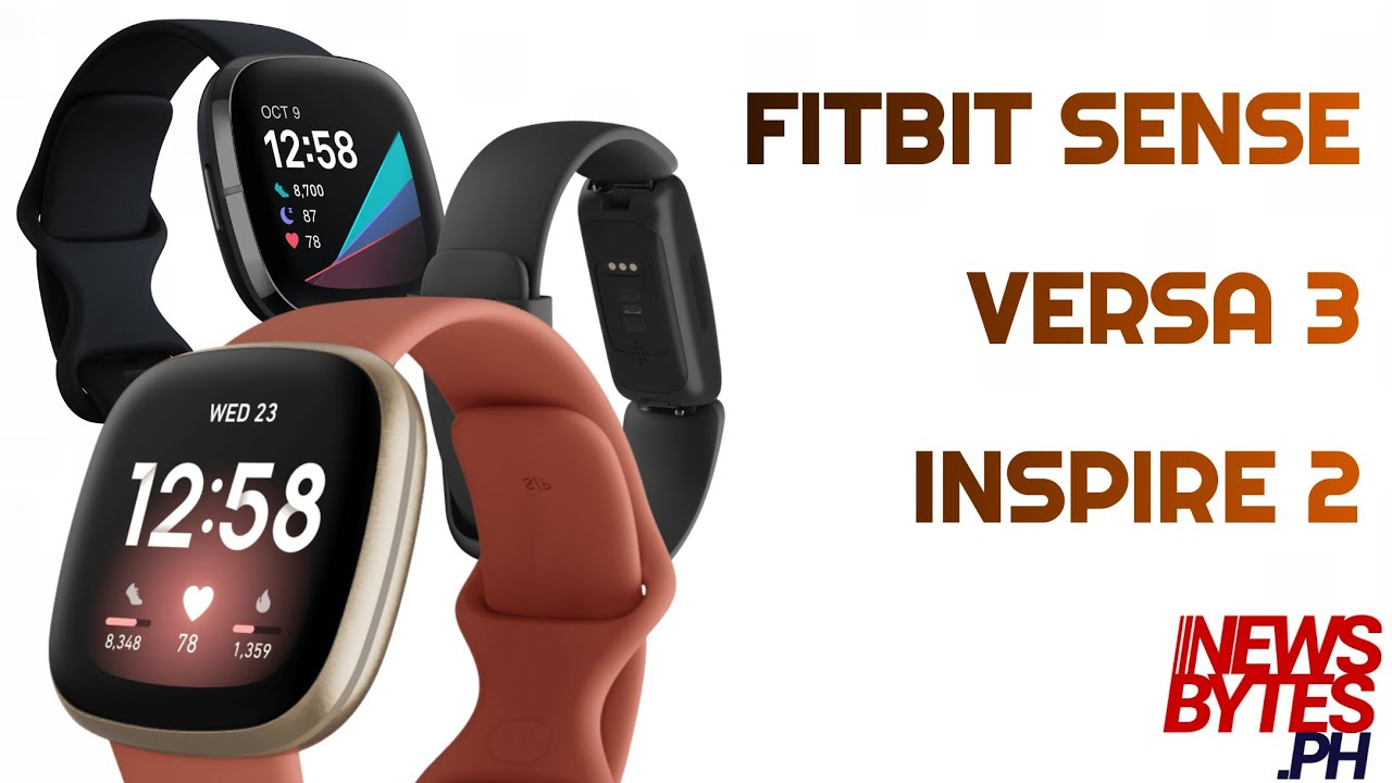 Fitbit Releases 3 New Smartwatches Youtube