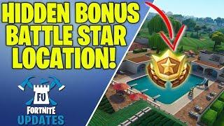 Fortnite Season 5 Week 2 - Secret Bonus Battle Star Location!