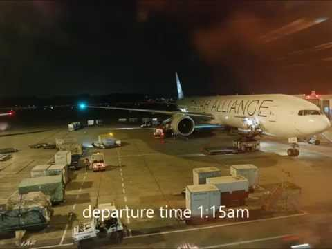Singapore Airlines Premium Economy Class Boeing 777-300ER Flight SIN-LHR