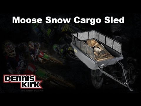 Cargo Snow Sled from Moose (Snowmobile Gear) at Dennis Kirk