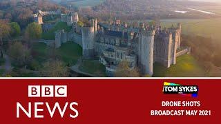 Arundel Castle Theft - Drone Footage
