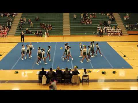 Salem Church Middle School at Chesterfield County Middle School Cheer Competition 2020