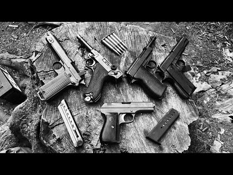 Weapons of Nazi Germany, Luger P08 vs Walther P38