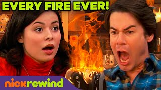 Every Time Spencer Started a Fire Ever on iCarly 🔥