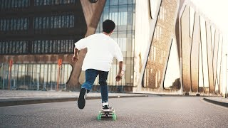 KOREAN LONGBOARDING with Crownboards | Dance x Freestyle