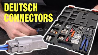What is a Deutsch Connector and Why They are PERFECT for Automotive Wiring! Eastwood
