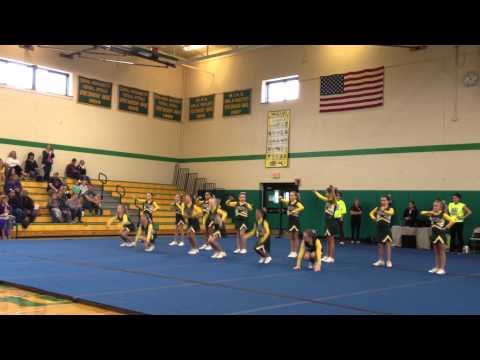 Nipmuc Warriors U10 2012 Central Massachusetts Cheer Competion
