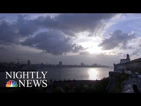 U.S. Officials Suspect Russia In Mystery Medical Attacks On Diplomats In Cuba | NBC Nightly News