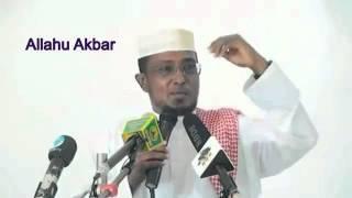 Nin soo islaamay oo Somalida la yaabay Sh Maxamed Cumar Dirir