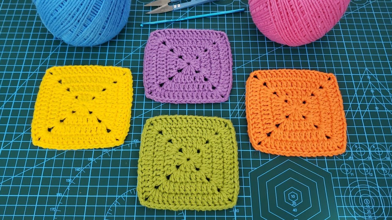 Quadrado De Crochê Perfeito Square De Crochê Tutorial De Crochê Diy Youtube
