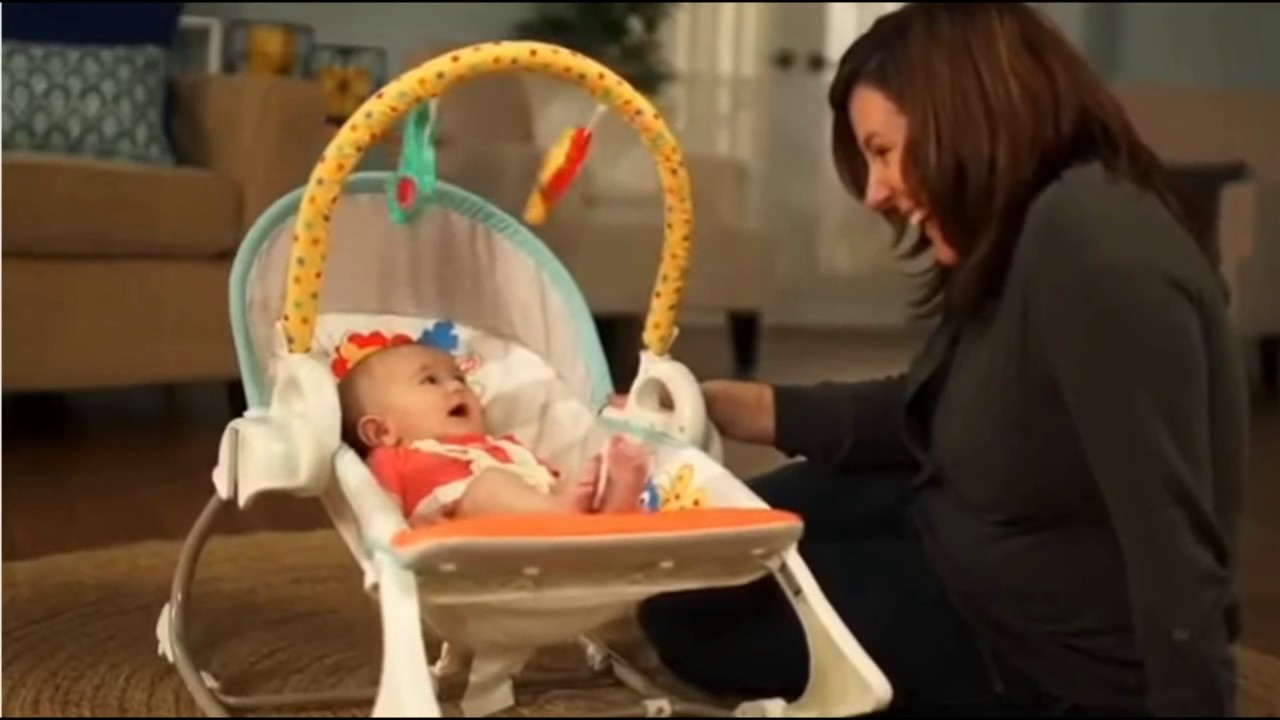Baby Swing Chair Youtube Posture Executive Leather Fisher Price 3 In 1 N Rocker Deals