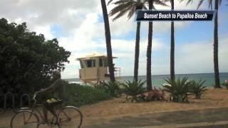 Around Oahu オアフ島1周