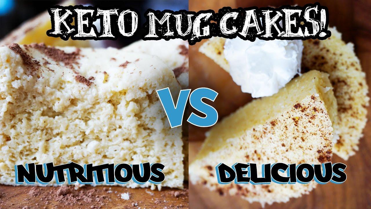 Keto Recipe For Cake In A Mug: Mug Cakes In The Microwave