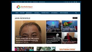 RNZ Nine to Noon tribute to Asia Pacific Report (PMC)