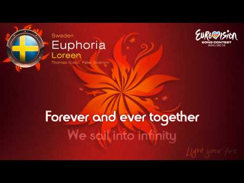 "Loreen - ""Euphoria"" (Sweden) - [Karaoke version]"