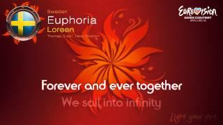 """Loreen - """"Euphoria"""" (Sweden) - [Karaoke version]"""