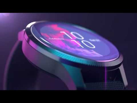 Garmin Venu: GPS-Fitness-Smartwatch mit brillantem AMOLED-Display