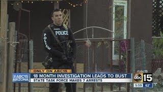 7 arrested in drug bust in El Mirage