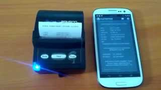Print Struk ke Bluetooth Printer dari Aplikasi CekTagihan Android