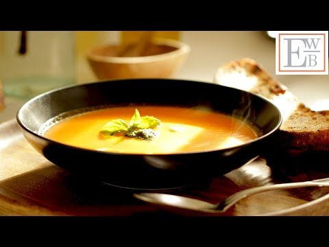 Beth's Vegetarian Tomato Soup Recipe |ENTERTAINING WITH BETH