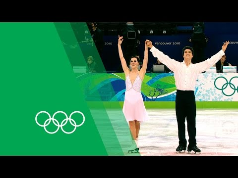 Tessa Virtue & Scott Moir relive their Vancouver 2010 Ice Dancing gold   Olympic Rewind