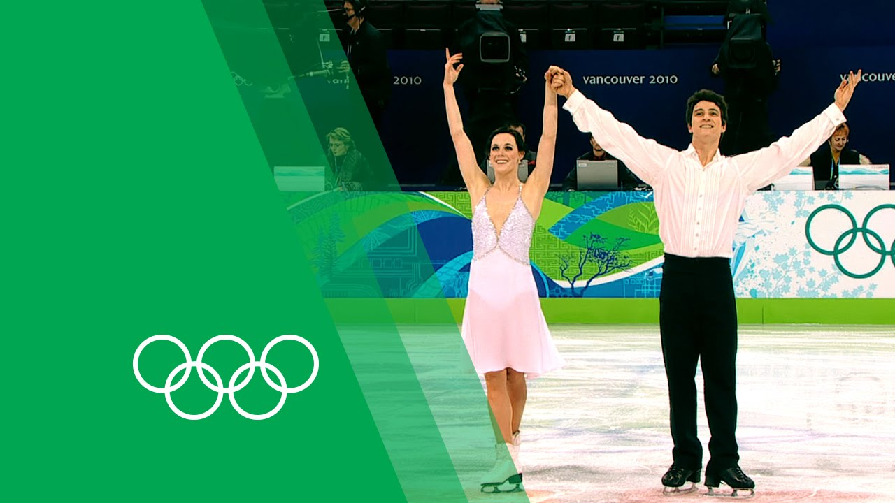 Olympics Tessa Scott Gold Moir Virtue 2010