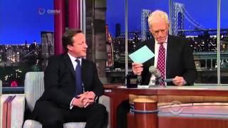 David Letterman with Ireland