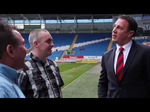 Player Experience with Malky Mackay and Fraizer Cambell