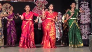 Asom amar Rupohi Dance Formed by Kuwait Asomiya Girls