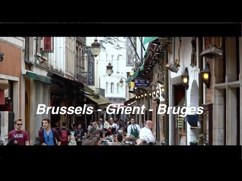 Brussels - Ghent - Bruges