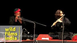 Israeli musician Shye Ben Tzur performs traditional Qawwali music, Delhi