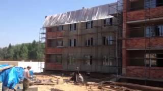 Фасадные работы(Квартиры в коттеджном поселке у озера, подробности на www.7720027.ru., 2013-06-04T10:07:52.000Z)