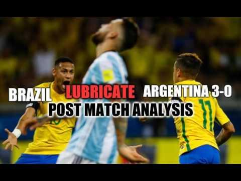 Brazil 3-0 Argentina Post Match Analysis - World Cup Qualifier